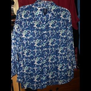 Izod 3/4 sleeve blouse